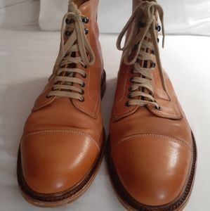 n.d.c made by hand Goodyear flex leather boots